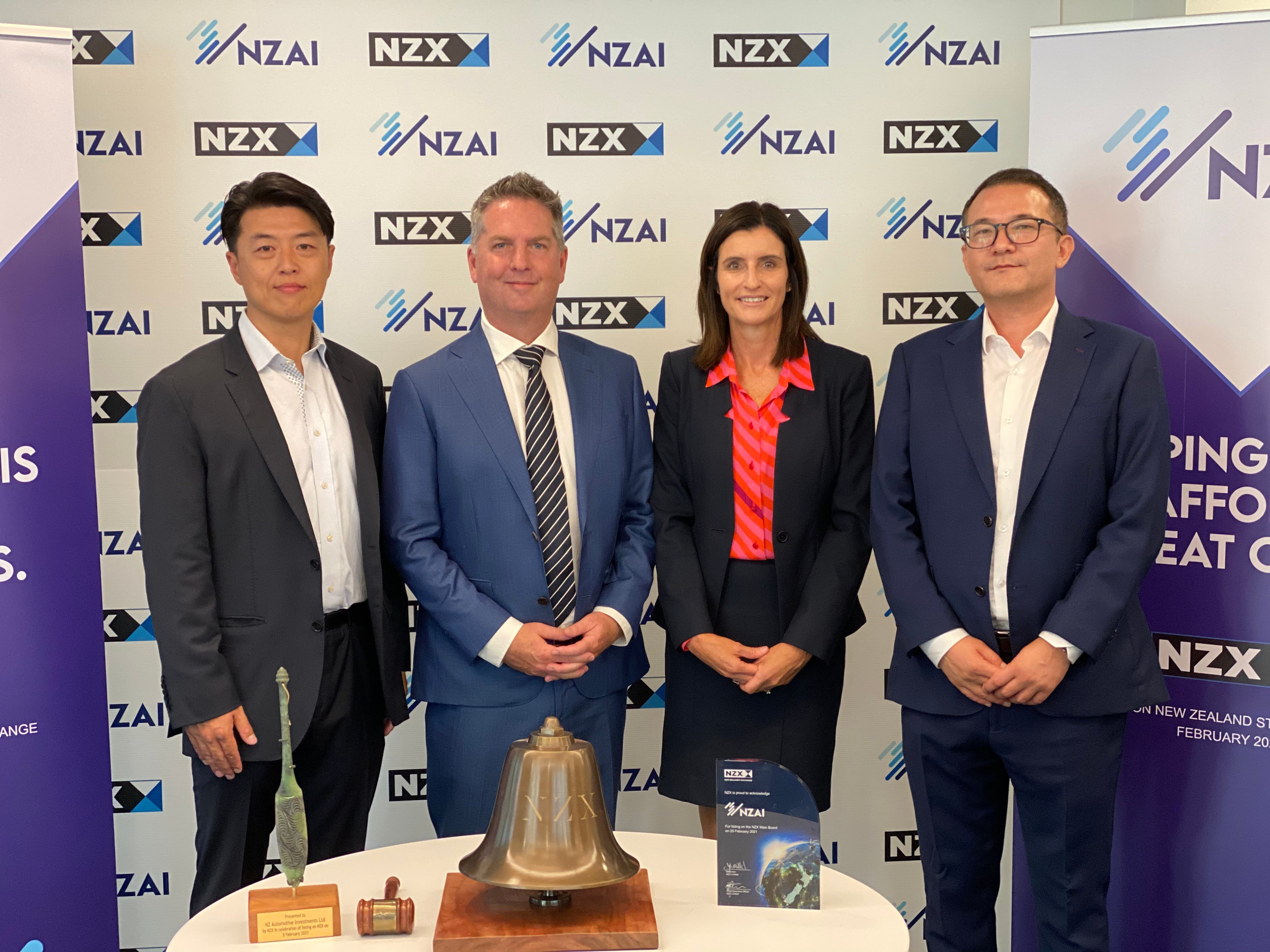 NZAI - Direct Listing on the NZX Main Board