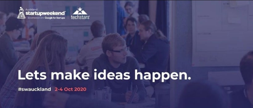 Startup Weekend Auckland Is Back!